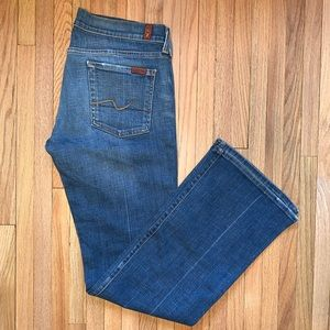 7 for all mankind | Mid-ish rise Bootleg |sz30